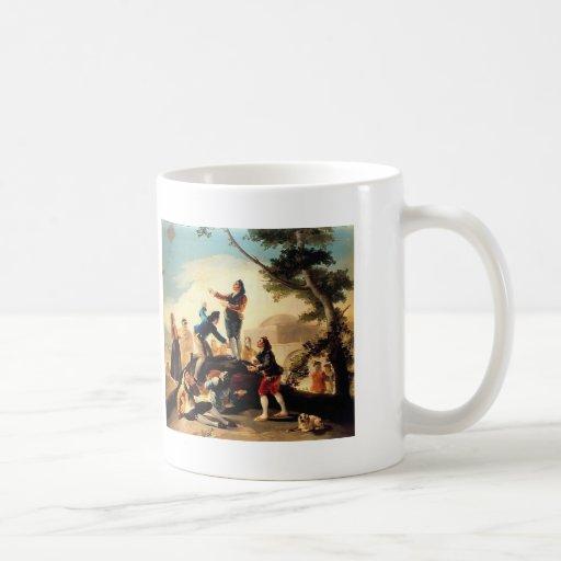 Francisco Goya- la cometa Taza Clásica