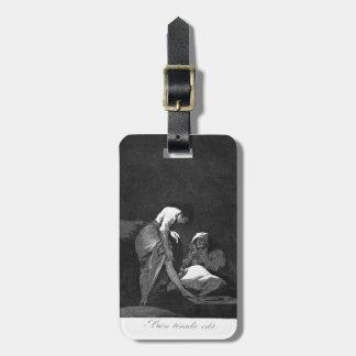 Francisco Goya- la tiran hacia abajo bien Etiqueta Para Equipaje