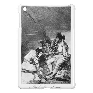 Francisco Goya- Lads getting on with the job iPad Mini Cases