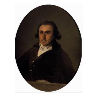 Francisco Goya- Martín Zapater Postcard