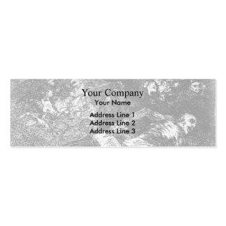 Francisco Goya- nada. El acontecimiento dirá Tarjetas Personales