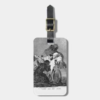 Francisco Goya- nadie nos ha visto Etiqueta De Equipaje