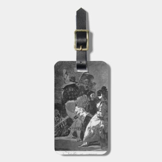 Francisco Goya- nadie sabe cualquiera Etiquetas Bolsa
