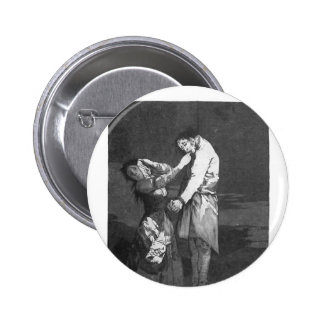 Francisco Goya- Out hunting for teeth Button