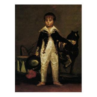 Francisco Goya- Pepito Costa and Bonells Postcard