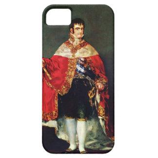 Francisco Goya- Portrait of Ferdinand VII iPhone 5 Cases