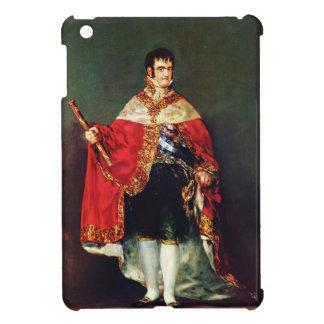 Francisco Goya- Portrait of Ferdinand VII Cover For The iPad Mini