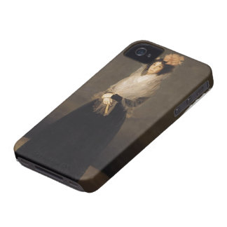 Francisco Goya- Portrait of the Countess of Carpio iPhone 4 Cover