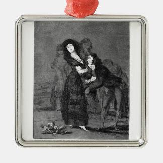¿Francisco Goya- quién es más superada? Ornamento De Navidad