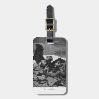 Francisco Goya- se atavían para arriba Etiqueta Para Equipaje