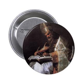 Francisco Goya- St Gregory el grande Pin