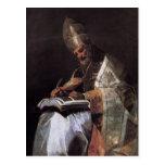Francisco Goya- St Gregory el grande Postal