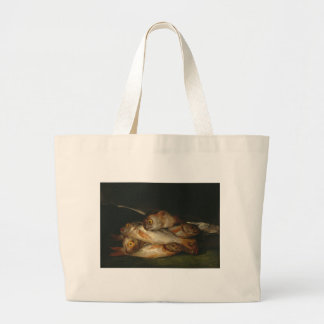 Francisco Goya - Still Life with Golden Bream Tote Bags