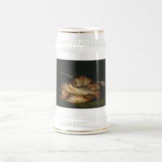 Francisco Goya - Still Life with Golden Bream Beer Stein