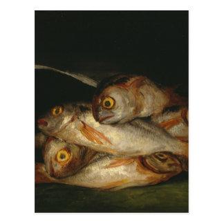 Francisco Goya - Still Life with Golden Bream Postcard