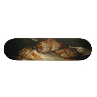 Francisco Goya - Still Life with Golden Bream Skate Board