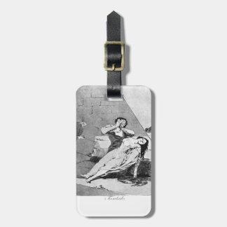 Francisco Goya- Tantalus Etiquetas Bolsas