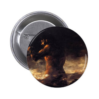Francisco Goya- The Colossus 2 Inch Round Button