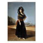 Francisco Goya- The Duchess of Alba Greeting Card