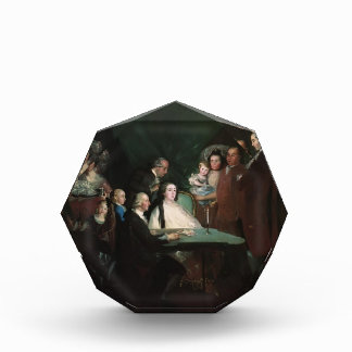 Francisco Goya- The Family of the Infante Don Luis Acrylic Award