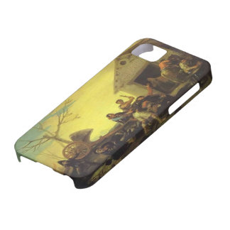 Francisco Goya- The Fight at the Venta Nueva iPhone 5 Cover
