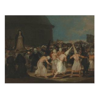 Francisco Goya - The Flagellants Postcard