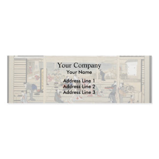 Francisco Goya- The Pilgrimage of San Isidro Business Card Templates