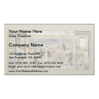 Francisco Goya- The Pilgrimage of San Isidro Business Card Template