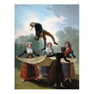 Francisco Goya- The Straw Manikin Postcard