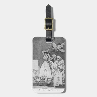 Francisco Goya- van ya desplumado Etiquetas Bolsa