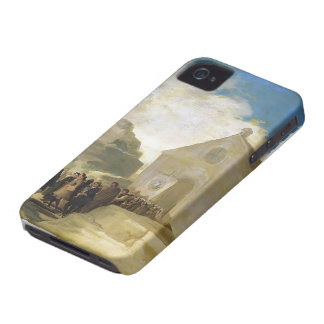 Francisco Goya- Village Procession iPhone 4 Covers