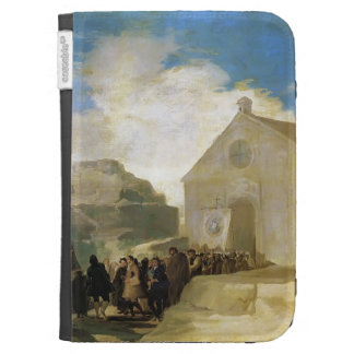 Francisco Goya- Village Procession Kindle Case