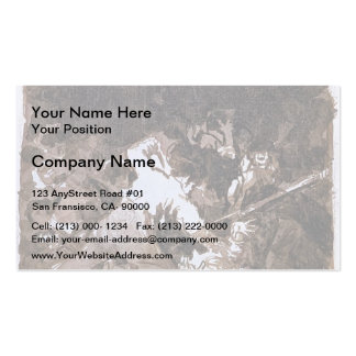 Francisco Goya- War scene Double-Sided Standard Business Cards (Pack Of 100)