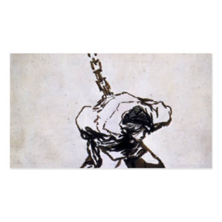 Francisco Goya- Who Can Think of It? Double-Sided Standard Business Cards (Pack Of 100)