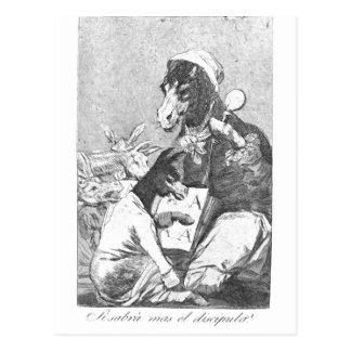 Francisco Goya- Will the student be wiser Post Cards