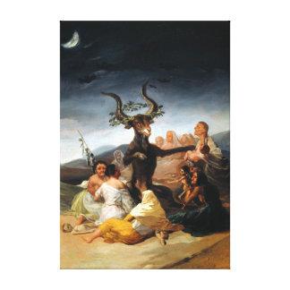 Francisco Goya Witches' Sabbath Canvas Print