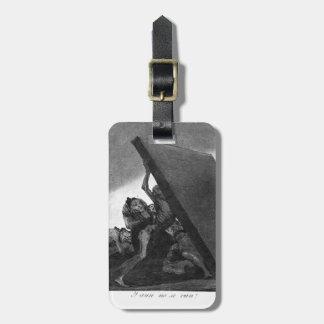 Francisco Goya- y ellos todavía no irá Etiqueta Para Equipaje