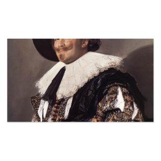 Francisco Hals- los caballeros de risa Tarjetas De Visita