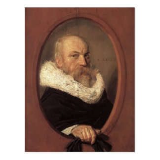 Francisco Hals- Petrus Scriverius Tarjeta Postal