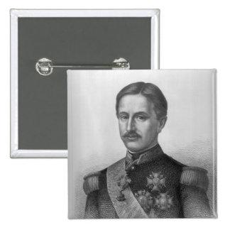 Francisco II de los dos Sicilies Pin Cuadrada 5 Cm