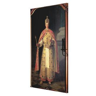 Francisco II, emperador romano santo Lona Estirada Galerías