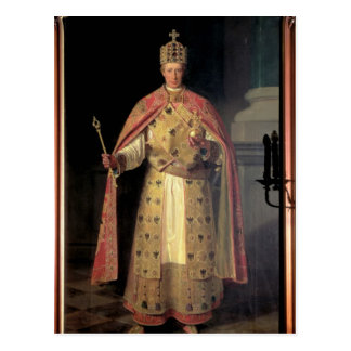 Francisco II, emperador romano santo Postal