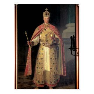 Francisco II, emperador romano santo Tarjeta Postal