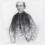 Francisco Javier Clavijero Pegatina Cuadrada