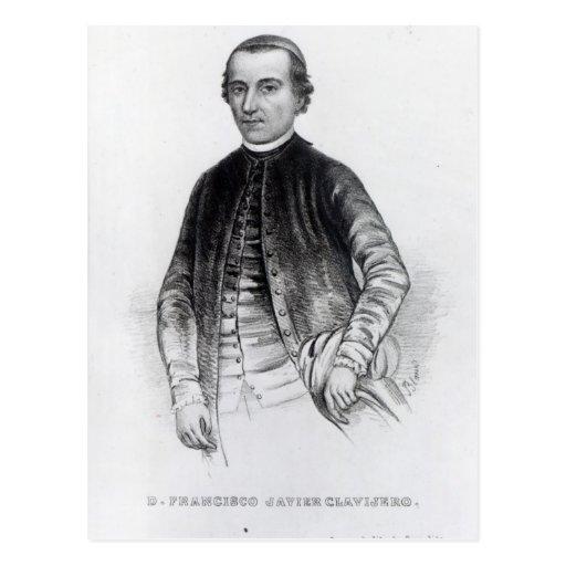 Francisco Javier Clavijero Tarjeta Postal