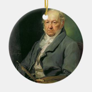 Francisco Jose de Goya, 1826 (oil on canvas) Ceramic Ornament