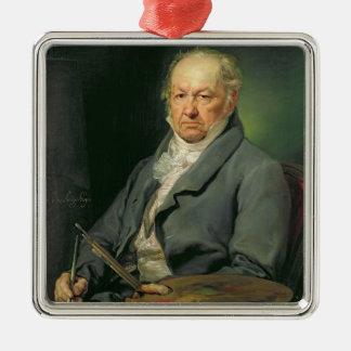 Francisco Jose de Goya, 1826 (oil on canvas) Metal Ornament