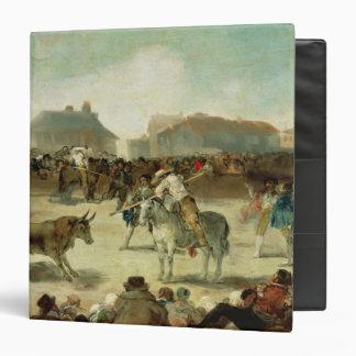 Francisco Jose de Goya   A Village Bullfight Binder