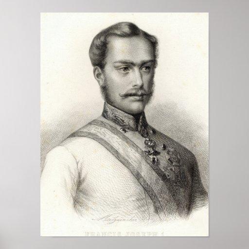 Francisco José I, emperador de Austria Poster