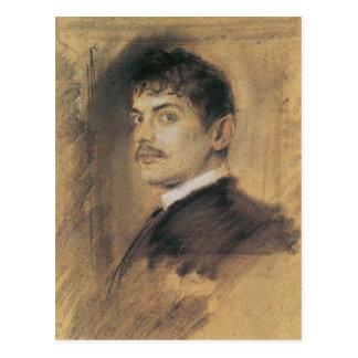 Francisco pegó arte postales